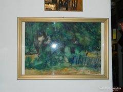 Novotny Emil Róbert garantáltan eredeti festménye