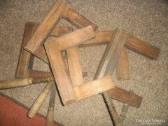 Antik asztalos szorítók 5 db