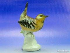 0A999 Régi Volkstedter porcelán ökörszem madár