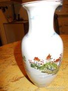 Porcelán váza,- japán