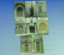 0A929 Régi képeslapok Prágai kapu bejáratok 8 db