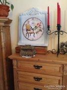 Provence bútor, antikolt fali óra 2.
