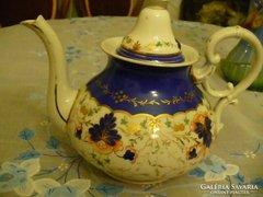 Antik kézzel festett bidermaier teáskanna