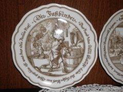 Hutschenreuther porcelán dísztányérok.