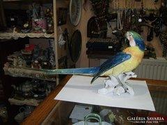 ENS porcelán papagáj figura