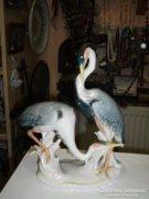 ENS porcelán páros madár figura