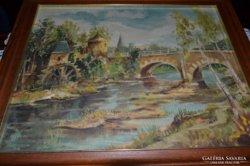Vászonra festett kép