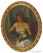 Friedrich Gábor : Női portré