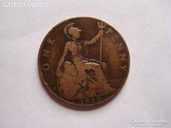 Egy penny 1912