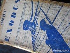 Leon Marcus Uris: EXODUS eredeti NEW YORK kiad. JUDAIKA 1958