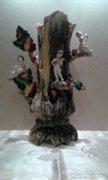 Díszes porcelán váza