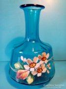 MOSER Cobalt Blue üveg váza jelzetlen