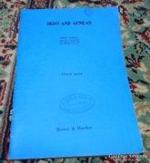 Kotta - Dido and Aeneas - angol és német nyelven