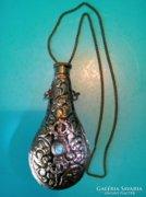 KÉZMŰVES parfümös  ásvány kővel 13 cm