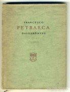 Petrarca Daloskönyve 1957, könyv, olasz, és magyar nyelven