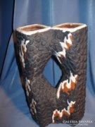 Nagyon különleges jelzett Király  kerámia váza