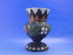 0C688 Jelzett régi kerámia váza