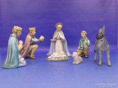 0D081 Hummel Jézus születése jelenet 7 db TMK 7