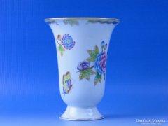 0D087 Régi herendi Viktória porcelán váza