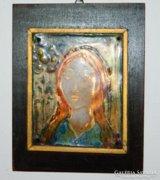 Tűzzománc - Egy  lány portréja