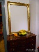 Hatalmas méretű aranyozott  Blondel képkeret, tükörkeret
