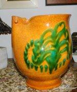 Különleges művészeti kerámia kiöntő / váza