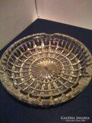 Nagy méretű,ólomkristály hamutál