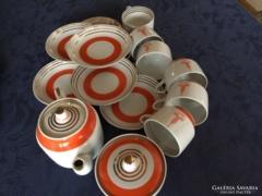 Moszkvai olimpia teás, Baranovka, orosz, szovjet vitrinállapot, ritkaság (203)