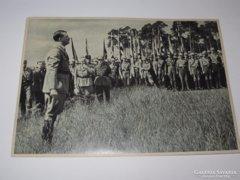 Hitler fénykép, korabeli nyomtatvány,1943