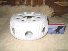 Porcelán melegen tartó--illatosítóhoz // szószokhoz