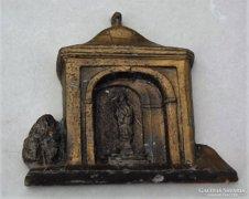 Réz kis házi oltár