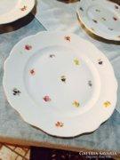 1 db Zsolnay kisvirágos nagyobb süteményes tányér
