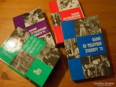 Rádió és televízió évkönyv 1970-73.