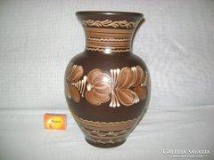 Retro Hódmezővásárhelyi padlóváza, váza