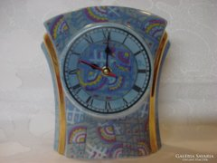 Bavaria kézzel festett porcelán óra