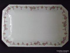 MZ  rózsagirlandos, nagy méretű tál