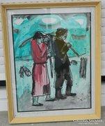 Lipták Pál festménye eredeti festménye