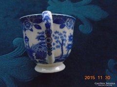 Japán kobaltkék mintás mokkás csésze