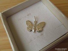 Nyári akció! Csak 6 napig !! - 35 % Pillangó ezüst medál - lepke