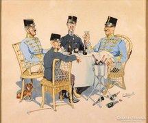 O. Brossek jelzéssel : A békére! 1913