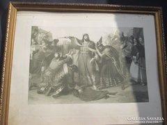 XIX. törtélelmi kép 40 x31,5 cm