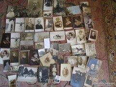 FOTÓ FÉNYKÉP 53 darabos gyüjtemény 1918 -tól