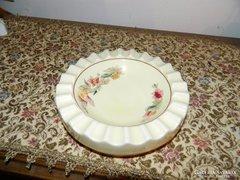 Nagy méretű zsolnay pajzspecsétes hamuzó asztalközép hamutál