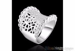 925-ös ezüst gyűrű 8-as méret ÚJ!
