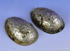 0F334 Antik húsvéti tojás alakú csokiöntő forma