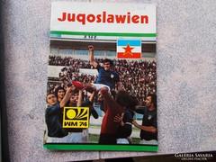 WM,1974.Frankfurt Jugoslavija foci reklam