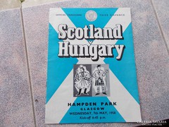 Foci program,Scotland- Hungary, 1958