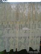 Új  horgolt, pamut ágytakaró. 270x230 cm.