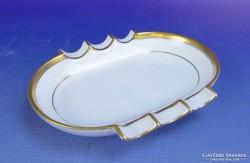 0F832 Régi herendi porcelán hamutál tálka