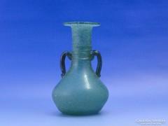 0C654 Gyönyörű művészi fújtüveg váza